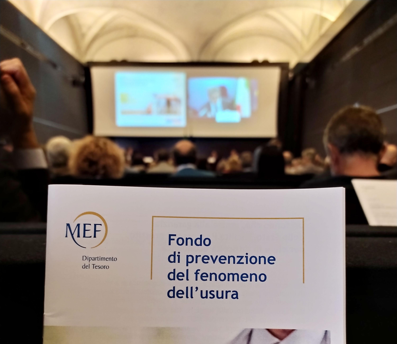 M.E.F. – Microcredito contro l'usura per l'inclusione finanziaria
